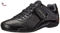 Diesel Korbin Ii Lux Homme Baskets Mode Noir - Chaussures diesel (*Partner-Link)
