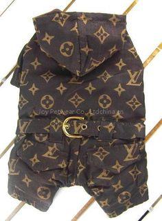 Louis Vuitton Dog Clothes Designer | Louis Vuitton dog tracksuit