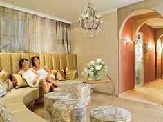Wellnessresidenz Schalber Serfaus-Fiss-Ladis / Tirol - Lady Spa - Ladies Lounge Kabine, Wellness Spa, Lady, Lounge, Curtains, Room, Furniture, Home Decor, Girlfriends