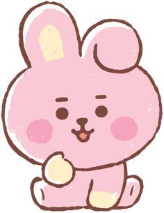 sticker by 💗 BTS. Discover all images by 💗 BTS. Bts Chibi, Bear Wallpaper, Kawaii Wallpaper, Cartoon Wallpaper, Wallpaper Desktop, Wallpaper Backgrounds, Bts Drawings, Kawaii Drawings, We Bare Bears Wallpapers