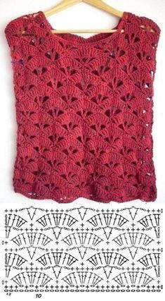 900 Ideas De Blusas Crochet En 2021 Croché Ganchillo Blusas Ganchillo