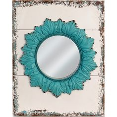 Alana Wall Mirror.                                         --would put this mirror on top of another mirror