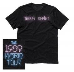 The 1989 World Tour™ Neon Script Tour Tee