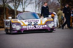 Christian Glasel - 1988 Jaguar XJR9 at the Goodwood 73rd Members Meeting (Photo 1)