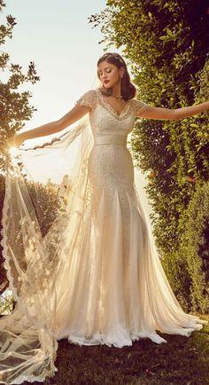 dreamy wedding gown by bhldn