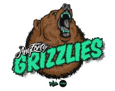 Any Forty GRIZZLIES. by Tom Mac, via Behance