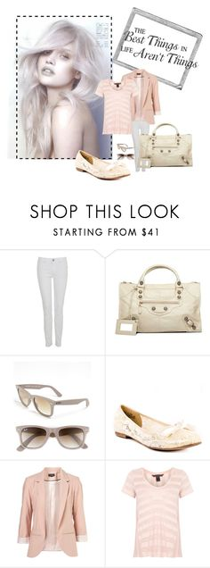 """""""the best thing in life aren't thing"""" by tama1990 ❤ liked on Polyvore featuring A