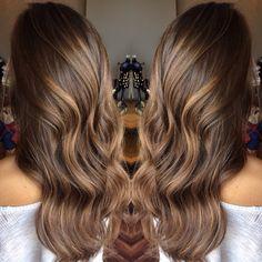 Balayage on straight hair Hiarstyles Pinterest