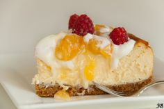 Carolines blog: Citroen cheesecake