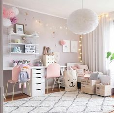 So Cute Children Girl's Bedroom