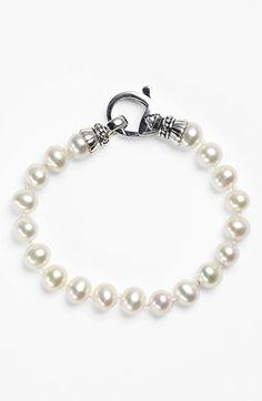 Lagos 'Luna' 7.5mm Pearl Bracelet | Nordstrom