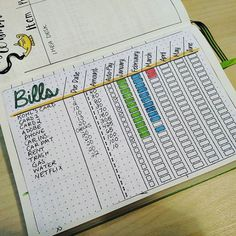 10 Must-Have Bullet Journal Pages to Stay on Top of Your Finances this 2020 – Finance tips, saving money, budgeting planner Bullet Journal Ideas Pages, Bullet Journal Inspiration, Journal Pages, Journals, Bullet Journal Project Planning, Bullet Journal With Stickers, Project Life Planner, Budget Organization, Organizing Bills