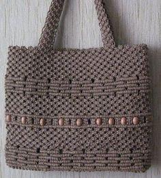 Женские сумки ручной работы. Ярмарка Мастеров - ручная работа. Купить Льняная сумка. Handmade. Лен, сумка, авторская сумка Macrame Purse, Macrame Cord, Micro Macrame, Macrame Knots, Crochet Pouf Pattern, Macrame Supplies, Handmade Purses, Macrame Tutorial, Crochet Handbags