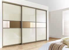 Sliding Wardrobe Doors As Nice Color Combination Furniture For