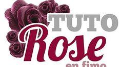 °tuto fimo° Rose - YouTube