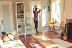 Eva and Jason's Charming Craftsman Bungalow. Charm overload in this Portland house full of light and vintage finds.