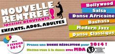 La rentrée de février 2014 au sein de Marseille Danse Academy (une 2e rentrée avec quelques nouveaux cours en plus :) )
