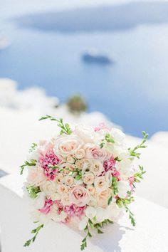 A Dream Come True Santorini Wedding - MODwedding
