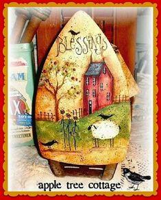 Apple Tree Cottage Original E patrón de diseño por appletreecottage, $5.00