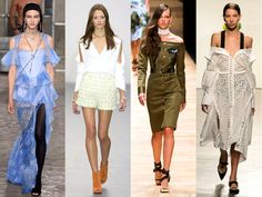 Spring/Summer 2016 Trends from Fashion Week - From New York to Paris, Fashion Week outlined plenty of gorgeous trends for Spring/Summer 2016. Discover the coolest and most fashion-forward trends from FW.