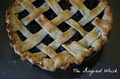 The Gingered Whisk: Sweet Cherry Pie with Sourdough Pate Brisee