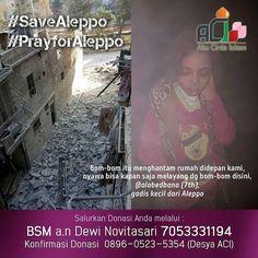 @akucintaislam.official  DUKA ALEPPO HADIRKAN EMPATI UNTUK SAUDARA KITA! . .  Saat kita asyik hari-hari menuju tahun yang baru Saudara kita di Aleppo (Suriah) sungguh sangat khawatir apakah mereka bisa bertahan hidup sampai di tahun yang baru.  Update terbaru situasi Allepo:  1. 37.000 orang korban perang meninggalkan Aleppo timur menuju wilayah barat  2. 14.700 orang berlindung di shelter kolektif  3. 3.420 orang lainnya tidak terdata dan belum diketahui keberadaannya  4. 6.750 pengungsi…