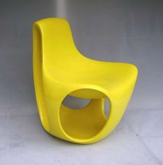 Sculpture Chair, Switzerland 1970s | From a unique collection of antique and modern chairs at https://www.1stdibs.com/furniture/seating/chairs/