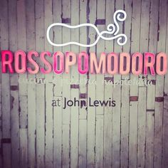 Rossopomodoro at John Lewis Oxford Street - LT and his team built this xx   Taking mum and dad there on Sunday xx