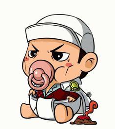 Chibi Naruto Characters, Flor Iphone Wallpaper, Cute Batman, Naruto And Sasuke, Naruto Shippuden, Baby Cartoon, One Piece Anime, Akatsuki, Chinese Art