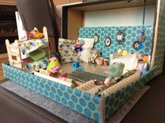 My little doll house with little #Lalaloopsy