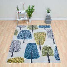 Cedar rugs 24608 in cobalt by scion £480