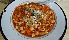 Sopa fagioli