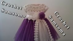How to Crochet Baby Toddler Girl Dress using Vintage Pillow Case Pattern Tutorial Baby Tulle Dress, Crochet Tutu Dress, Crochet Blouse, Toddler Girl Dresses, Girls Dresses, Flower Girl Dresses, Crochet Girls, Crochet For Kids, Baby Dress Patterns