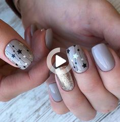 purple Acrylic short square nails design for summer nails, french manicures, sho. Star Nail Designs, Elegant Nail Designs, Elegant Nails, Stylish Nails, Acrylic Nail Designs, Trendy Nails, Spring Nails, Summer Nails, Design Ongles Courts