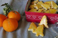Sablés à l'orange – lesmainsdansleplatblog 13 Desserts, Beignets, Orange, Biscotti, Dairy, Cheese, Cookies, Food, Sauf