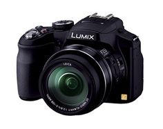 Panasonic Lumix DMC-FZ200 12.1 MP Digital Camera with CMOS Sensor and 24x Optical Zoom - Black - DMC-FZ200K