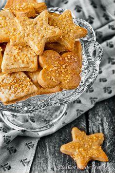 La cocina de Frabisa: Recetas de Galletas de Azúcar Dorado. Navidad