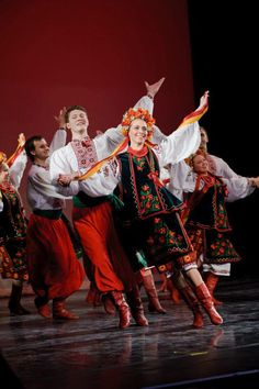Rusalka Ukrainian dance Ensemble, from Winnipeg, Manitoba