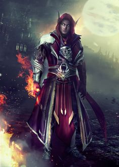 VYRANDiL - World of Warcraft (OC Commission) by Eddy-Shinjuku on DeviantArt