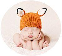 Newborn Photography Fox Costume Prop
