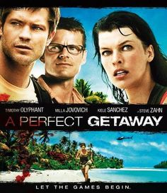 A perfect getaway (bluray)