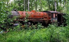 This lovely looking Locomotive was abandoned in Hungary in the 1960.