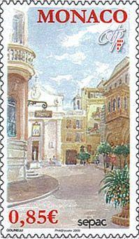 Monaco Postage Stamp