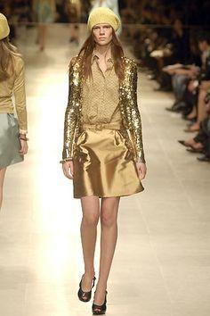Burberry Prorsum Spring 2006 Ready-to-Wear Fashion Show - Gemma Ward