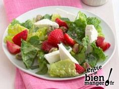 Salade de Petits Chèvres aux Fraises