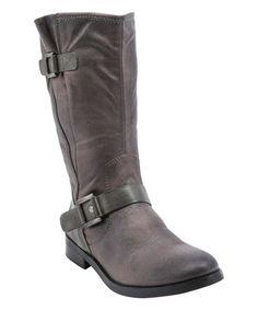 Another great find on #zulily! Dark Gray Fayth Boot #zulilyfinds