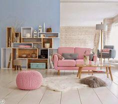 Pastelowe kolory w domu - Myhome