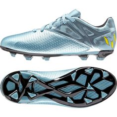 Adidas Kids Junior Boys Shoes Messi 15.3 Firm Ground Cleats Ice Soccer  S81493  Adidas f12cc83d6ecfb