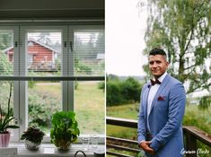 A beautiful ceremony in the rain at a summer cottage, couple portraits on a boat and then the sun came out to celebrate at Adventure Valley at this Porvoo Wedding. Groom Attire, Couple Portraits, Finland, Couples, Celebrities, Amazing, Summer, Photography, Wedding