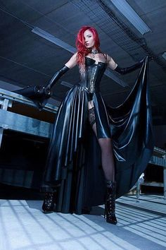 sexylatexmodels: girls in sexy latex fashion Pvc Fashion, Fetish Fashion, Dark Fashion, Gothic Fashion, Ideias Fashion, Steampunk Fashion, Steampunk Clothing, Latex Fashion, Dress Fashion